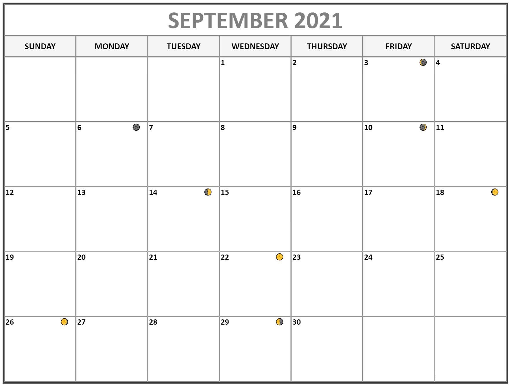 2021 September Calendar Telugu
