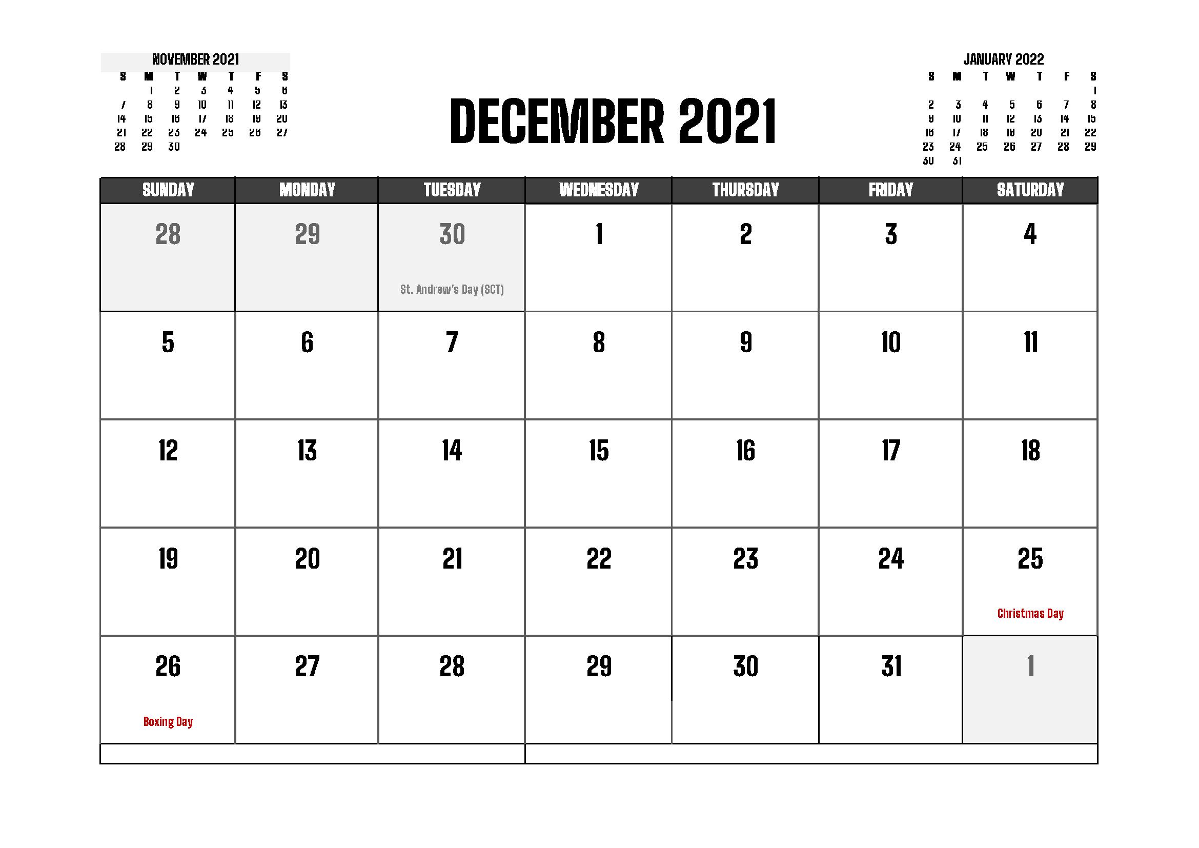 December 2021 Calendar Gujrati