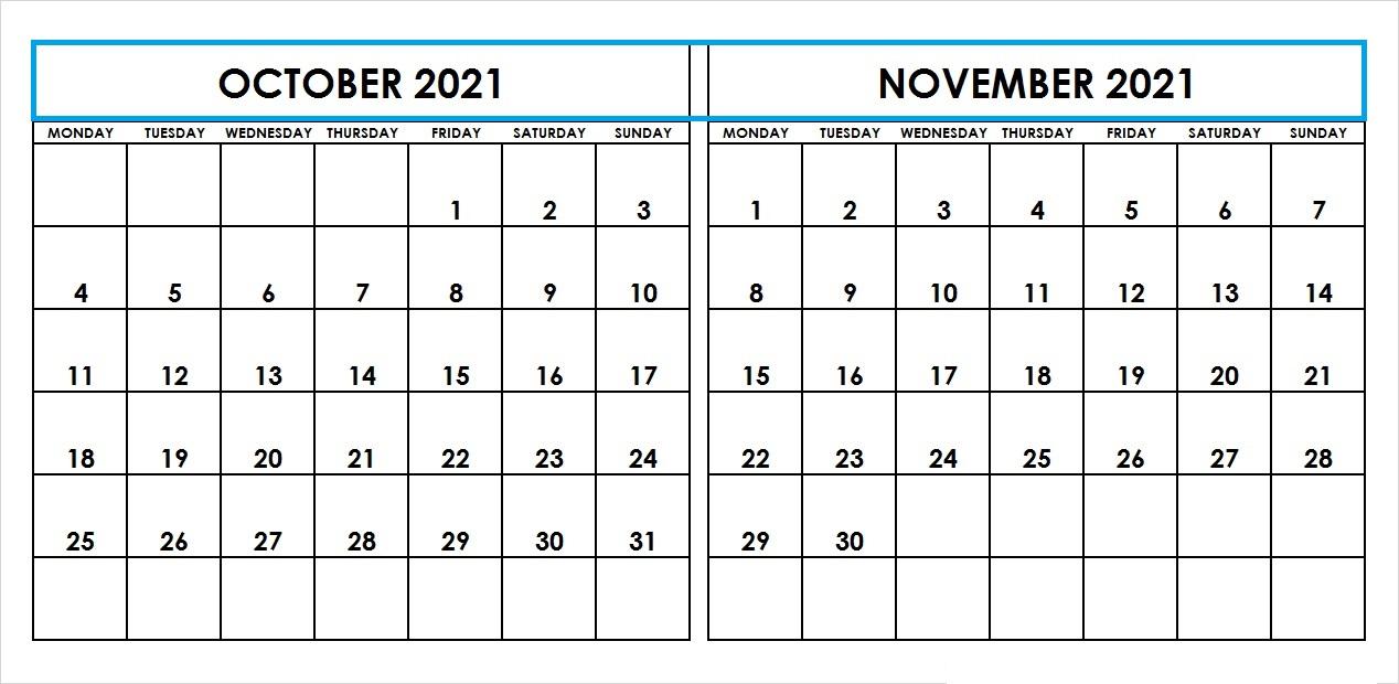 November Calendar 2021 Kalnirnay