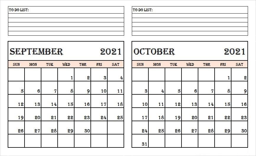 October 2021 Calendar Template Evernote for Google Sheets