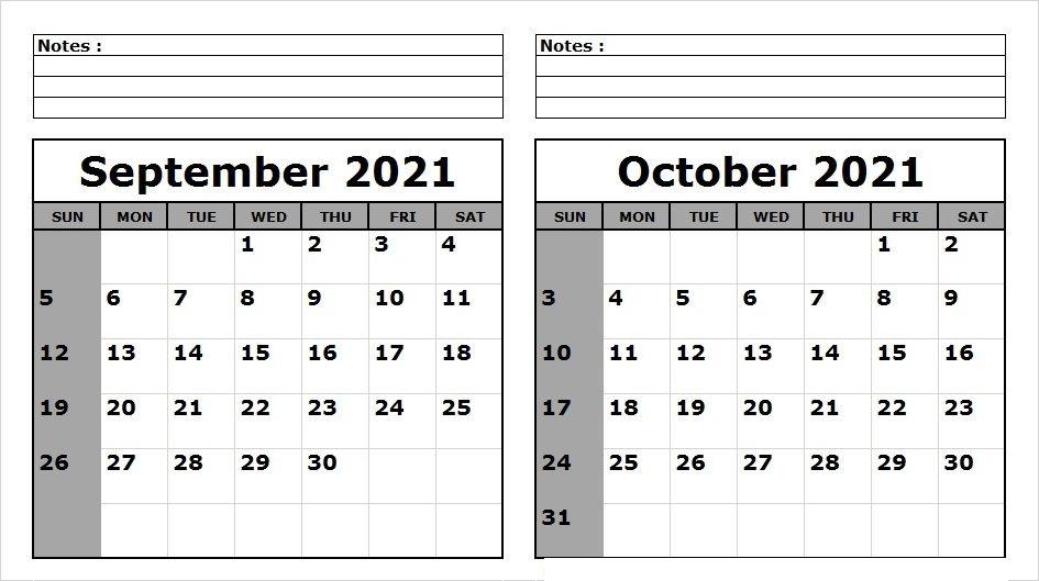 October 2021 Printable Calendar Ramadan Schedule