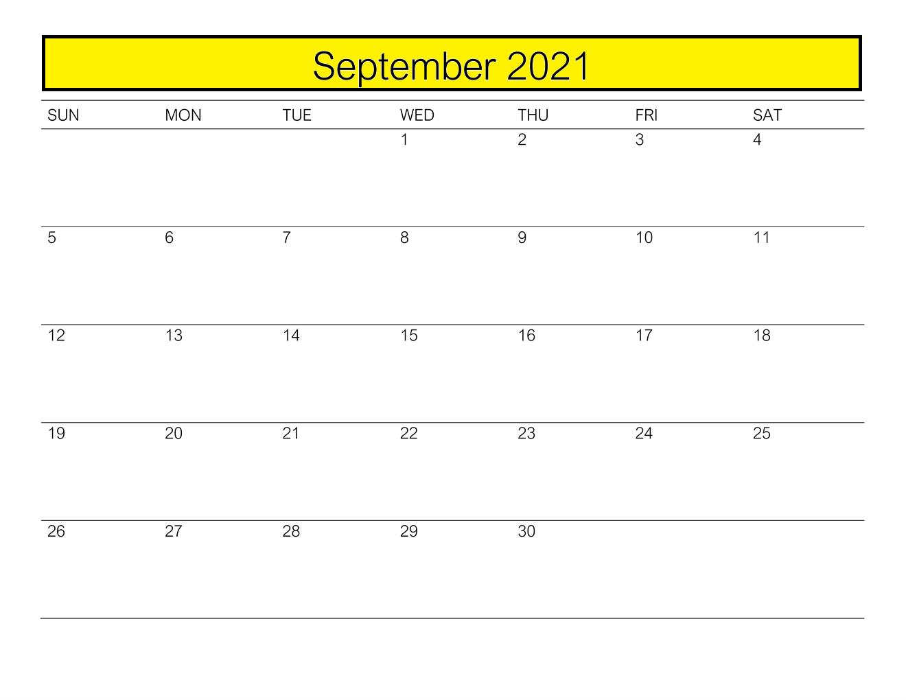 September 2021 Calendar With Holidays India