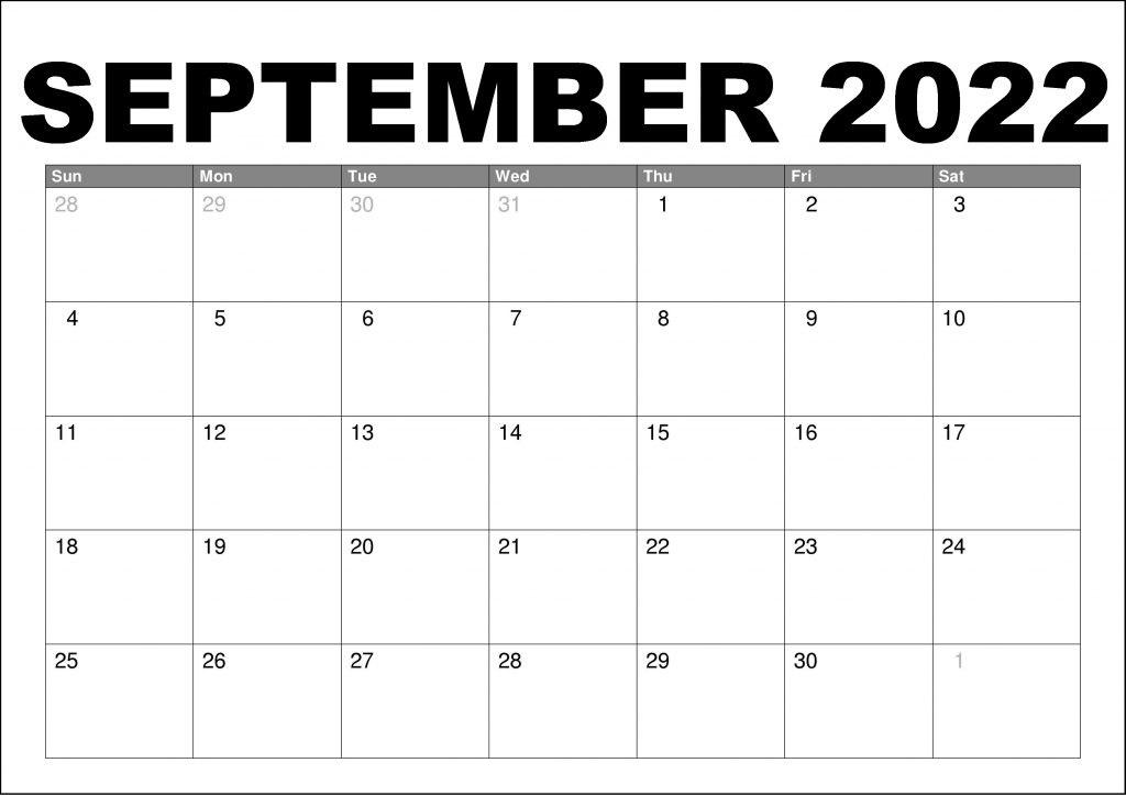 2022 Calendar Template Psd