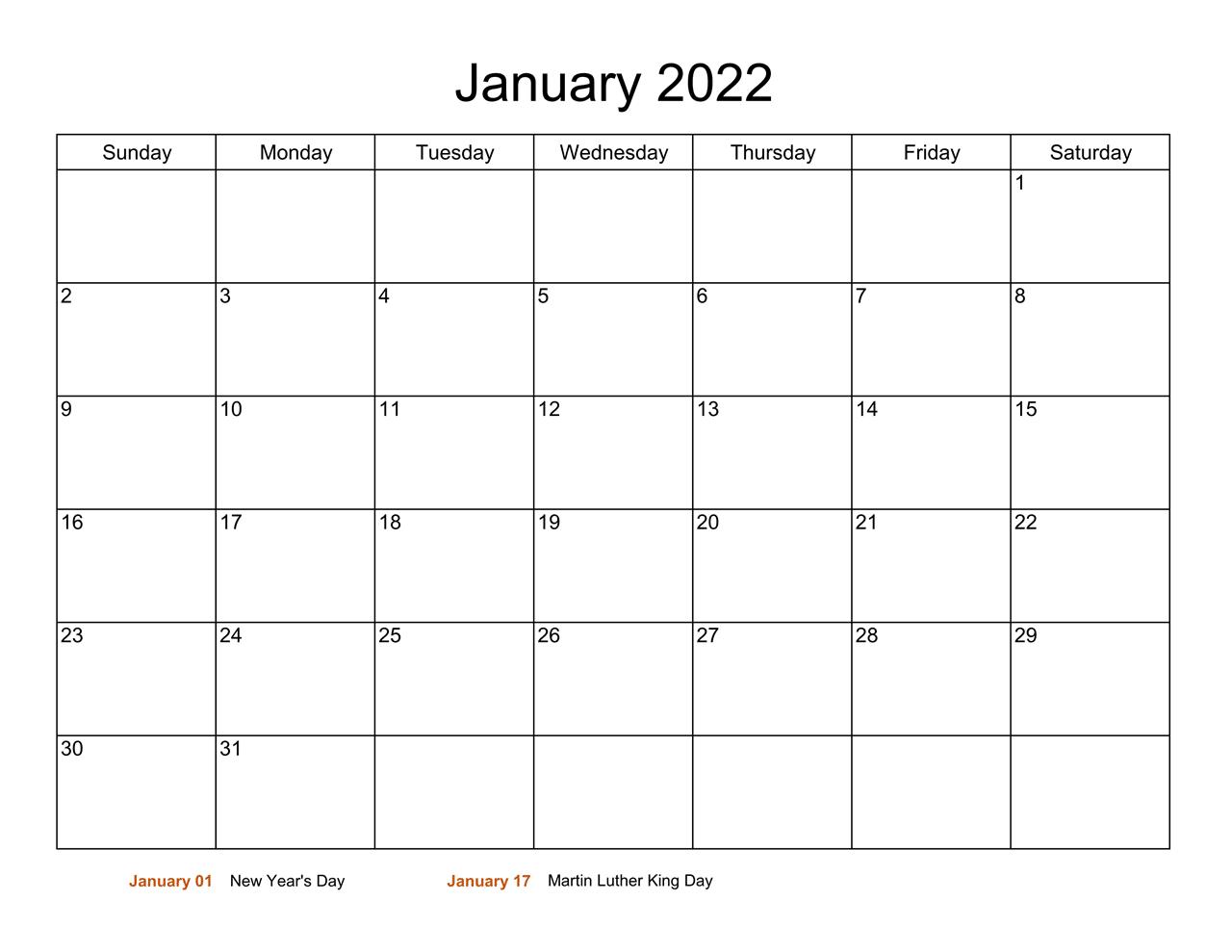 2022 calendar Australia excel