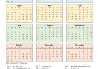 2022 calendar excel