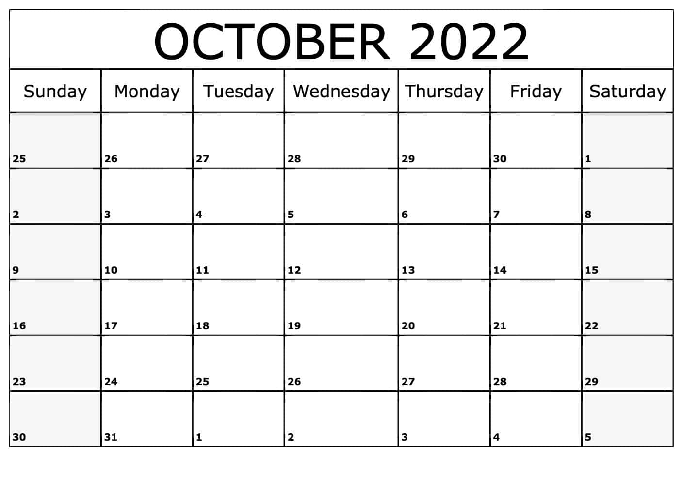 2022 calendar excel uk