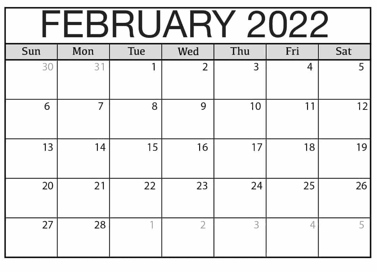 2022 calendar excel with holidays