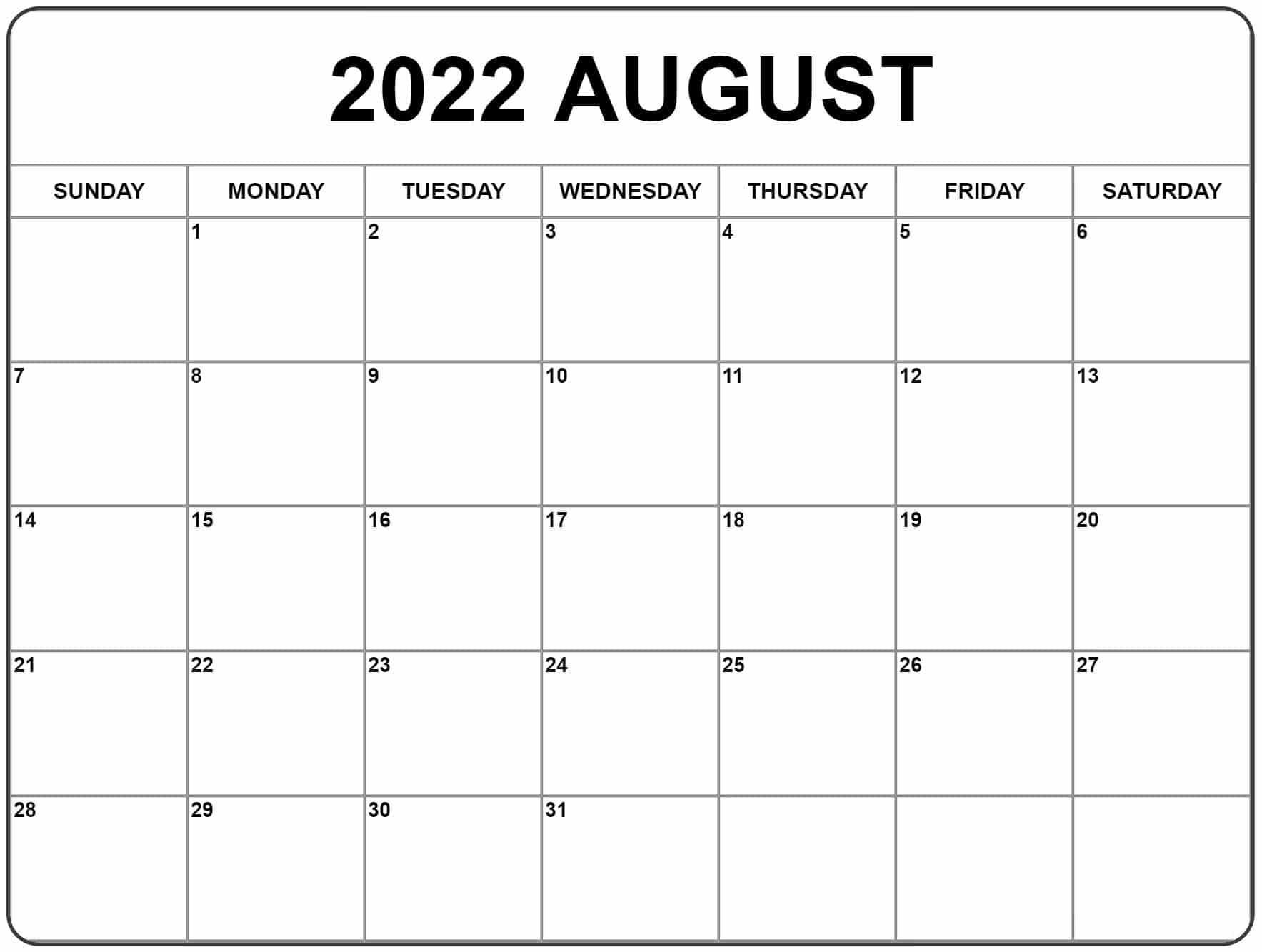 2022 holiday calendar excel